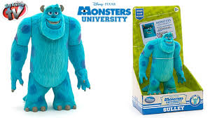 monsters university disney store sulley action figure toy review