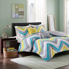 design ariel chevron reversible comforter set