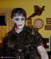 Swat Halloween Costume Kids Swat Zombie Halloween Costume