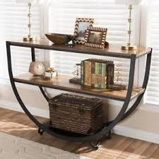 Ebay Console Table by Industrial Console Table Ebay