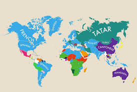 China In Map Of World by Infographic The Second Languages Of The World And What It Says