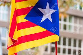 Estelada Flag An Estelada The Catalan Separatist Flag Barcelona Catalunya