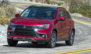 2017 mitsubishi outlander sport interior road test 2017 mitsubishi outlander sport clean fleet report