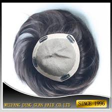 hair pieces for crown area a mens partial crown remy soft dread hair pieces toupee for black