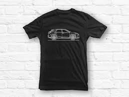 lexus uk gifts lexus rx 2016 car outline t shirt u2013 mufflebox