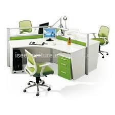 bureau rond cabines de bureau rond poste de travail pour 3 personne ic008 buy