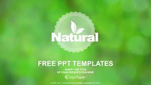 design logo ppt natural product logo design powerpoint templates