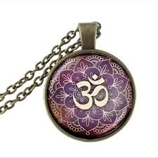 Lotus Flower With Om Symbol - online buy wholesale om symbol jewelry from china om symbol