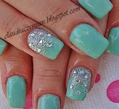 31 easy nail designs with gems picsrelevant