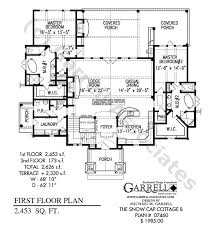 One Story Lake House Plans Snow Cap Cottage B House Plan Active House Plans