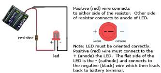 simple led circuit techdose com