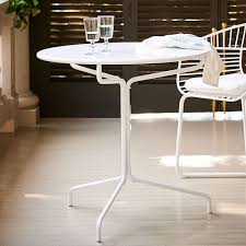 Next Bistro Table Soleil Metal Bistro Table West Elm