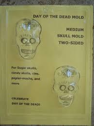 sugar skull molds medium 2 sugar skull mold front and back 3d sueños