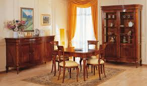 Dining Room Accent Furniture Walnut Table In 19th Century Style Vimercati Classic Furniture