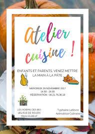 atelier cuisine rouen rob infos dégustation vins concerts naturo sophro promo et