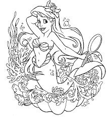 elegant princess mermaid coloring pages 39 remodel free