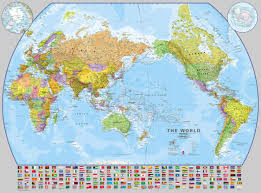 World Maps by Personalised Maps Buy Online From Maps International