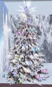 snow decoration second marketplace snow christmas tree top shine arbol