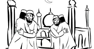 eid ul fitar muslim eid prayer didi coloring
