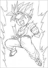 free dragon ball coloring pages 16969