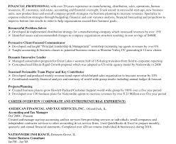 Finance And Insurance Manager Resume Resume Financial Analyst Resume Amiable Recent Graduate