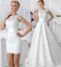 wedding dress with detachable charming a line 2015 wedding dresses with detachable skirt amelia