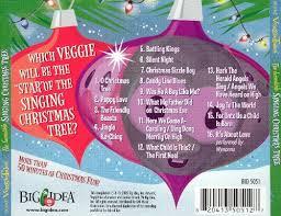 the incredible singing christmas tree veggietales songs