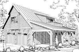 garage plan 20 067 front apartment craftsman house plans