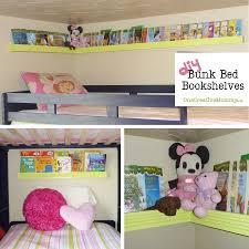bedroom bunk bed shelf dorm loft bed bedside shelving