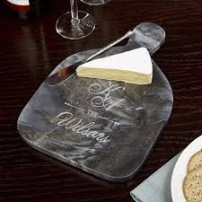 personalized cheese plate personalized marble cheese board