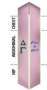 stoles graduation custom sash delta gamma graduation sash stole graduation
