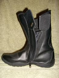 ladies motorbike boots viewing images for frank thomas ladies black waterproof motorcycle