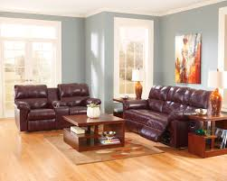 chairs fabulous impressive dark brown leather burgundy couch plus