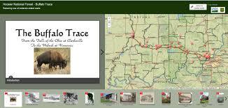 Buffalo Creek Trail Map Interactive Story Map Buffalo Trace Trail