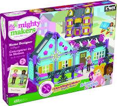 home design building blocks k u0027nex mighty makers home designer building set toys