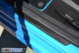 Exterior Door Threshold Replacement by Ford Focus Rs St Carbon Fiber Door Sill Plates By Cal Pony Cars