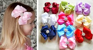 toddler hair bows 4 inch bows toddler baby girl hair bow children boutique hair