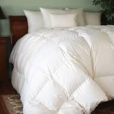 Queen Down Comforter Natural Nights Certified Organic 600 Winter Weight Down Comforter