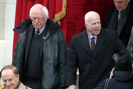 bernie sanders wore green parka to trump u0027s inauguration