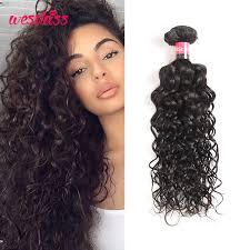 good wet and wavy human hair brazilian natural wave human hair water wave hair 3 bundles wet