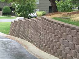 awesome picture of keystone retaining wall design perfect homes