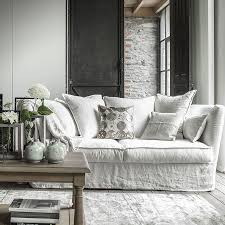 interiors canapé canapé 3 places melville blanc interior s