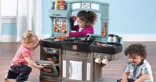Step Two Play Kitchen by Step2 Best Chef U0027s Play Kitchen Set Only 55 Shipped Regularly