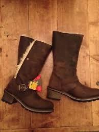 s boots calf length caterpillar cat s boots calf length size 3 ebay