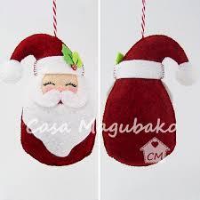 santa ornament sewing tutorial diy stitched