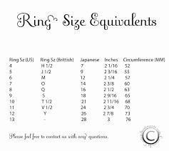 wedding ring sizes wedding ring size chart fresh best wedding ring size chart graph