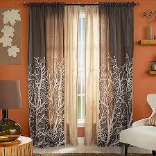 Window Curtains At Walmart Better Homes And Gardens Arbor Springs Semi Sheer Window Panel