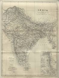 South India Map by Old Map Of India Depicting All Of The South Asian Subcontinent As