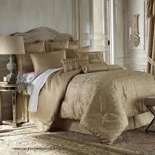 Gold Bed Set Waterford Anya Pale Gold Comforter Set King