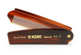 Jual Sisir Lipat Bogor kent pocket folding comb 82t